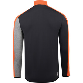 Dare 2b Depose Core Stretch Shirt Men, clemantine orange/black/ebony grey/ash grey marl